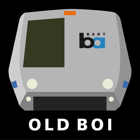 OLD BOI sticker