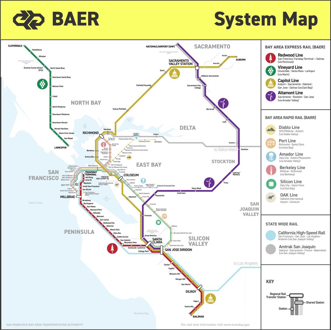 BEAR System Map
