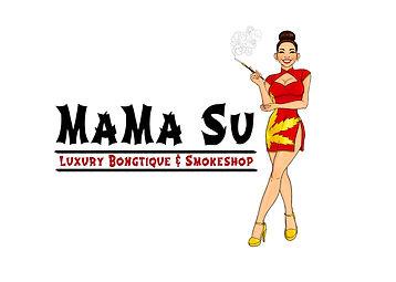 Mama Su Luxury Bongtique & Smokeshop log