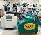 Zimek Micro Mist System in an operating room