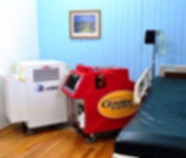 Zimek ROC EMS System in hospital room