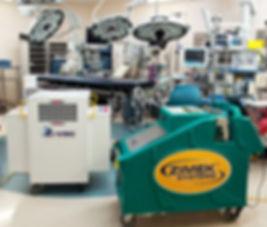 Zimek ROC Industrial System in Operating Room
