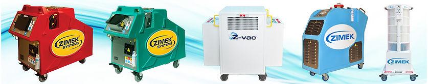 Zimek Micro Mist and Z-vac Decontamination System