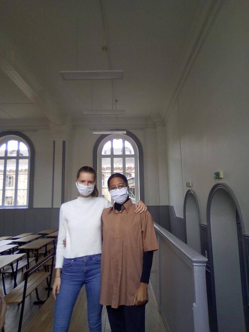 """Naomi et Victoria : """"L'hypokhâgne pour nous c'est avant tout un enrichissement intellectuel""""."""