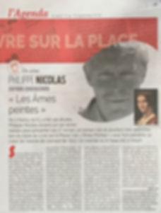 AMES PEINTES ARTICLE LA SEMAINE DE NANCY