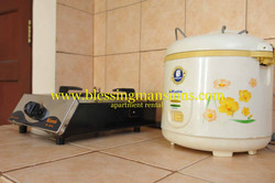 Rice cooker & Stove