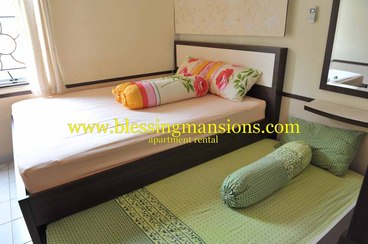 Master bed room for 3 persons