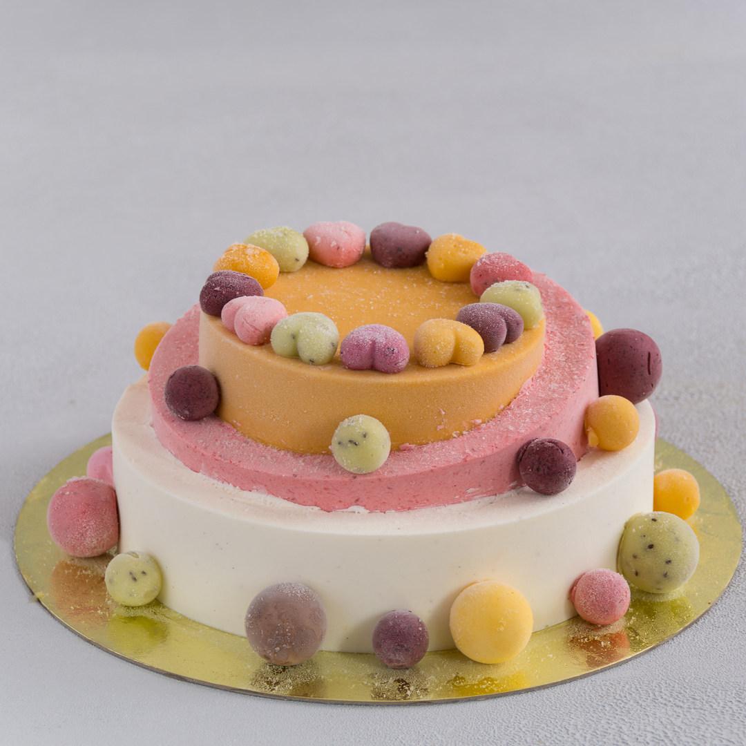 Торт-мороженое Пирамида
