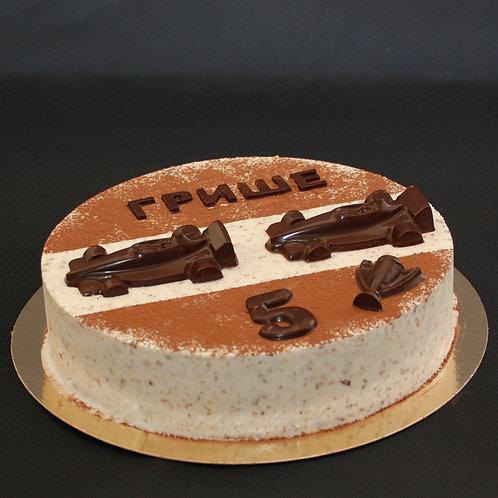 Торт-мороженое Гонки