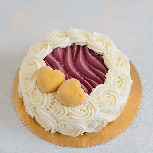 Торт-мороженое Розы