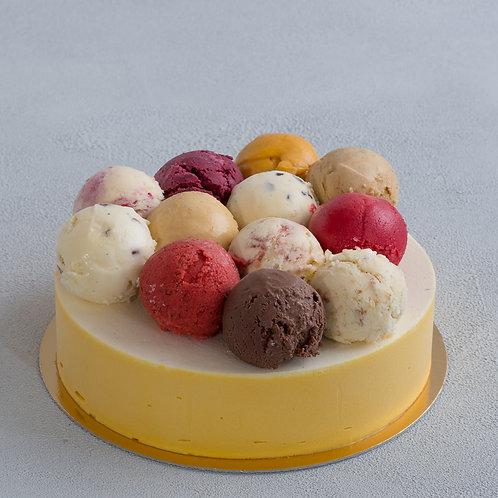 Торт-мороженое Яркая палитра