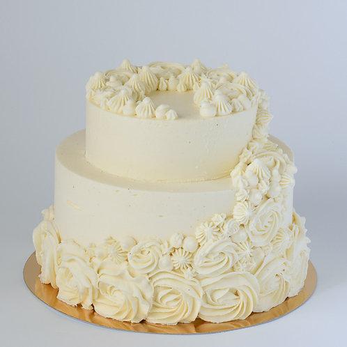 Торт-мороженое Свадебная фантазия