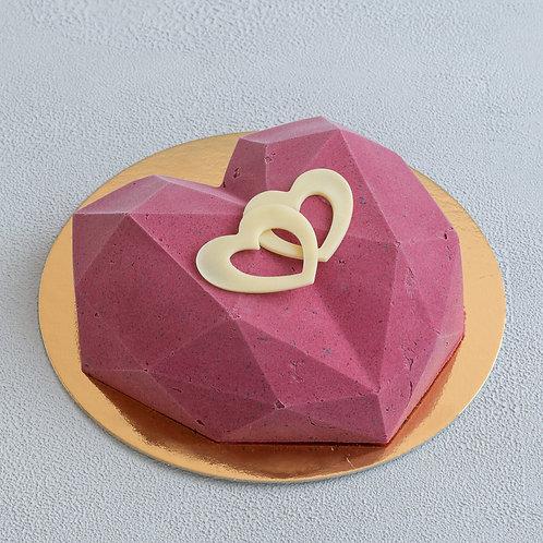 Торт-мороженое Сердце