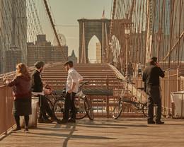 New York Times' Virtual Brooklyn Bridge Tour