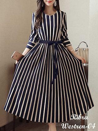 Digital Print Gown