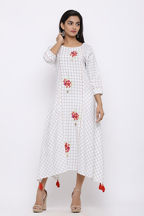 Kurti with Embroidery