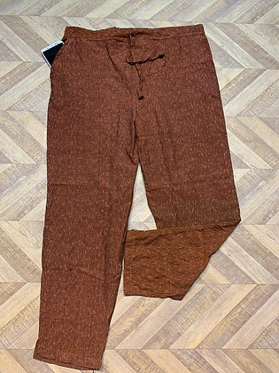 Ikkat Cotton Pants with Pocket