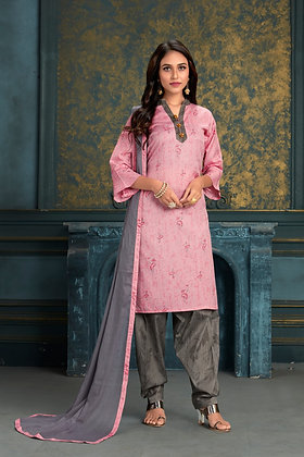 Patiyala Dress with Dupatta