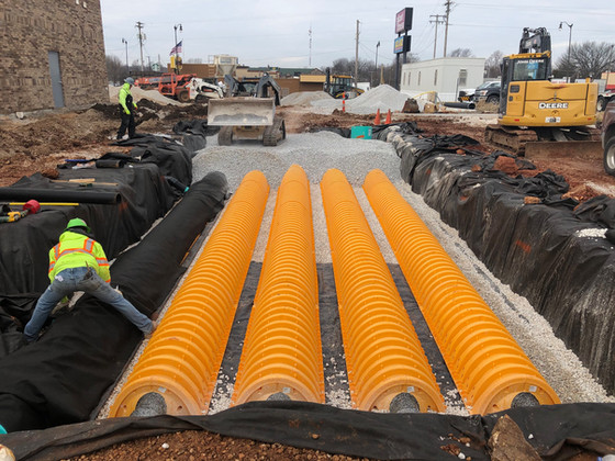 Springfield, MO - Unique Solution for Stormwater Management