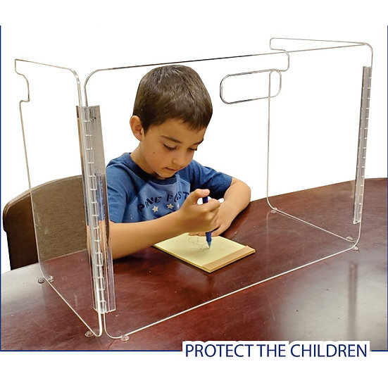 School Portable Protective Shield Guard Safety Barrier For Children