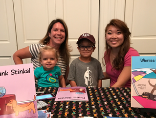 Frank Stinks Book Launch Party!