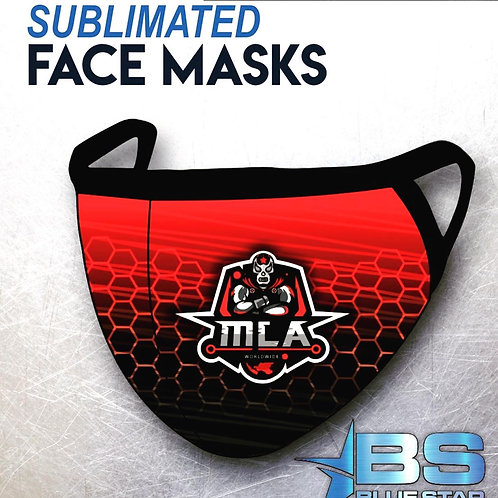 MLA Sublimated mask 2