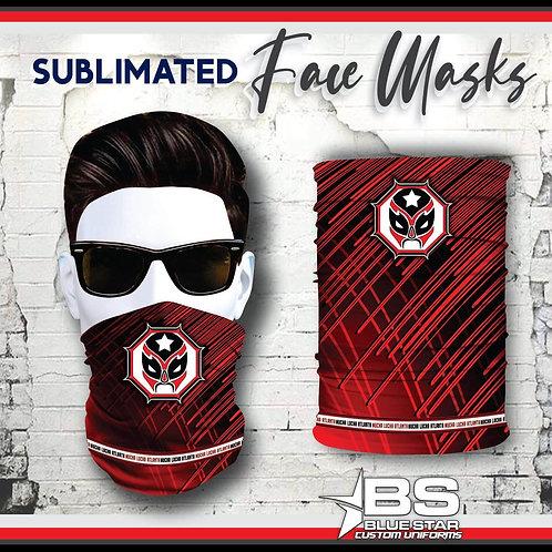 Sublimated MLA gaiter mask 1