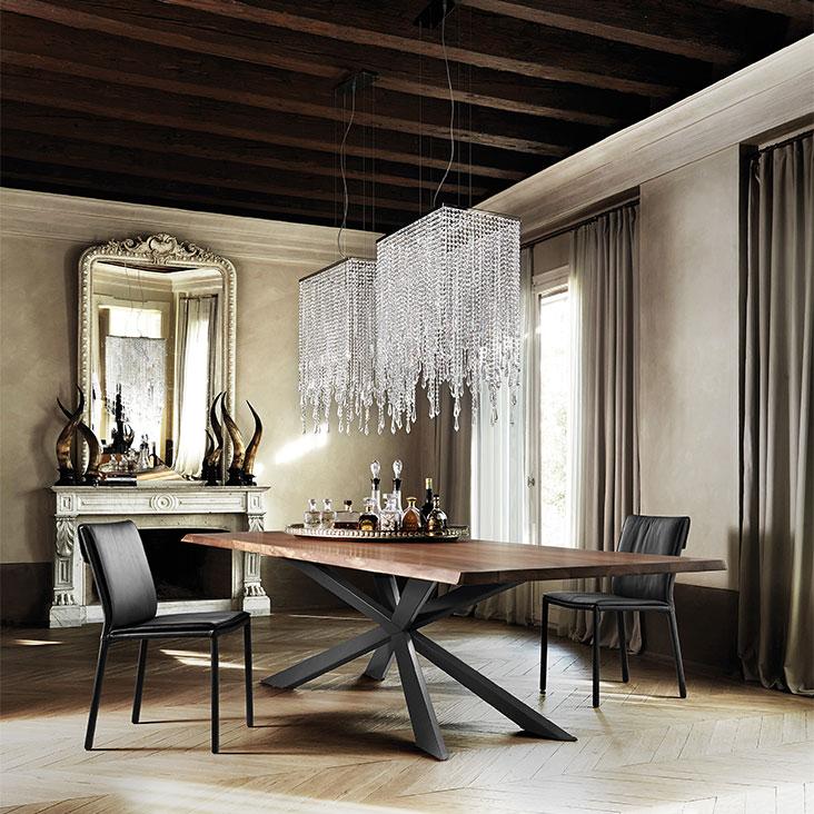 tavolo Cattelan Italia - Spyder Wood