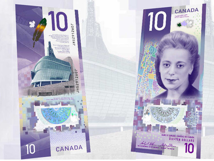Why the New Canadian $10 Bill Should Not Be Overlooked