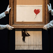 Why Banksy Shredded 'Girl With Balloon'