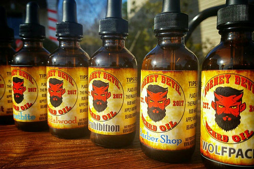 Horney Devil Premium Beard Oil 2oz