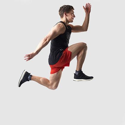 RUNNING SHORTS ORANGE