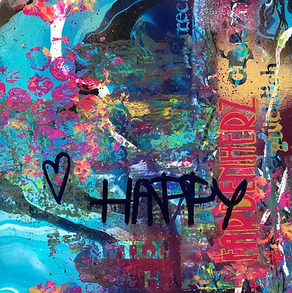 MAGNET HAPPY
