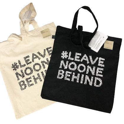 Beutel #leavenoonebehind