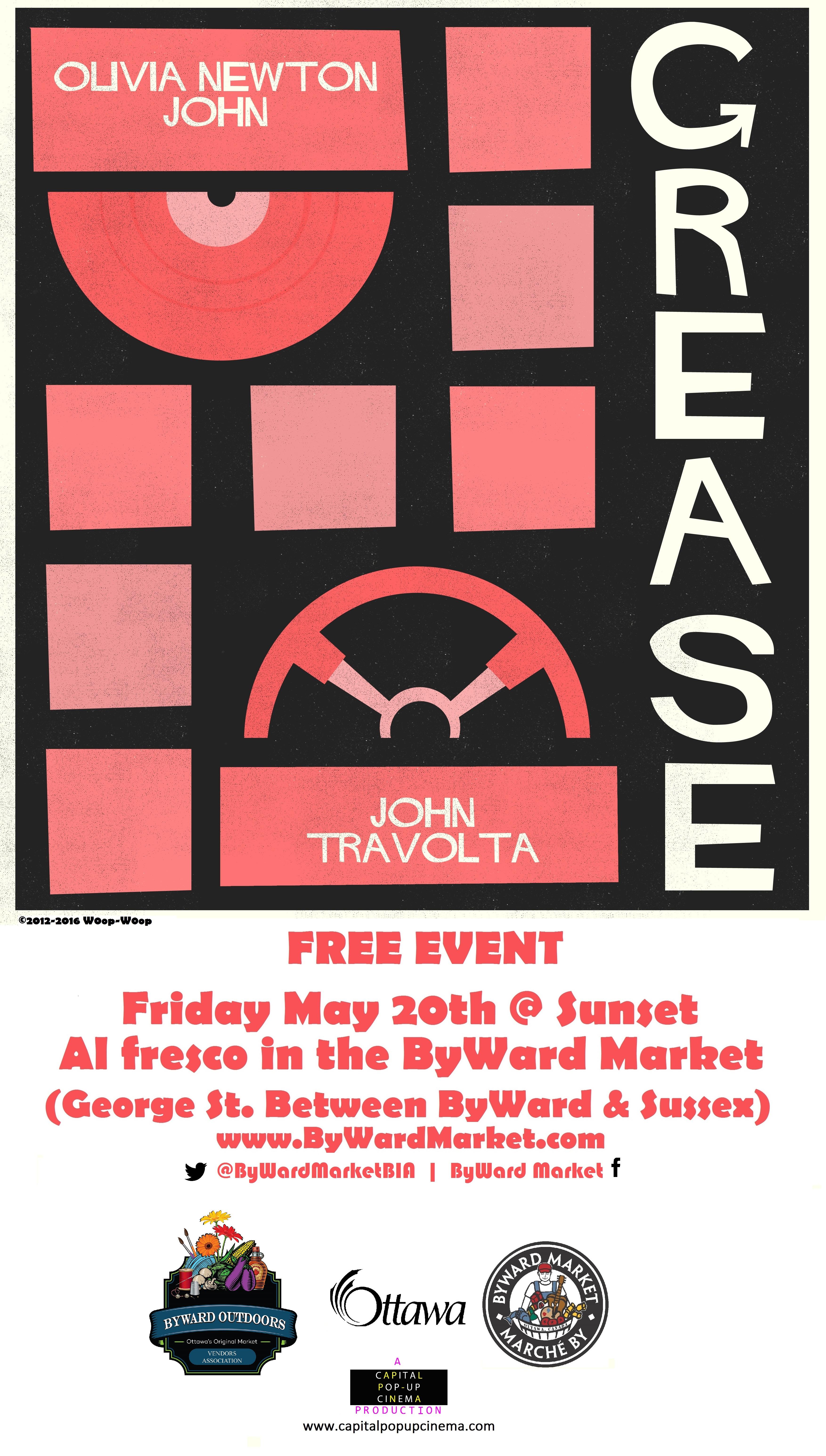 Grease Poster - Byward Market