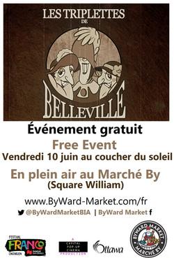 Triplettes de Belleville - ByWard