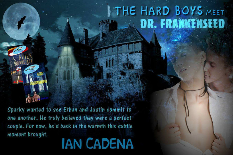 The Hard Boy Series - Alien Abduction. Dr Frankenseed