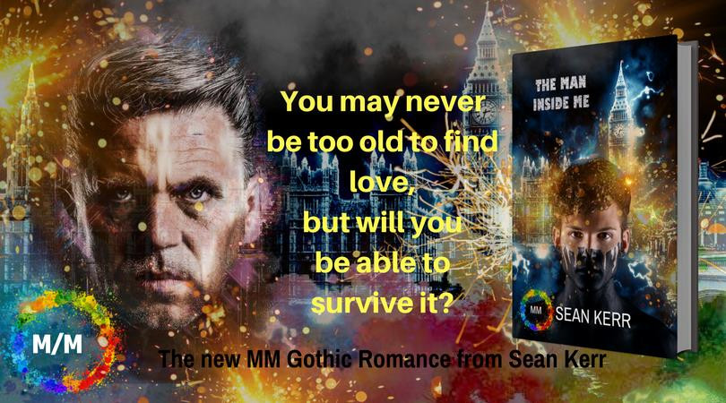Cover Reveal and Review - The Man Inside Me by Sean Kerr
