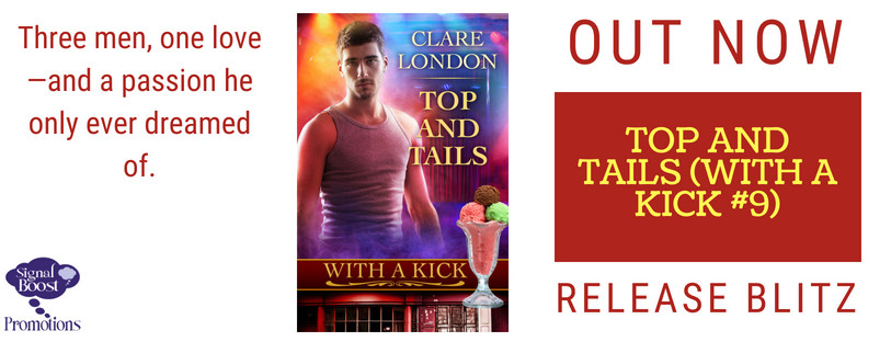 Release Blitz - Top And Tails - With A Kick #9 by Clare London