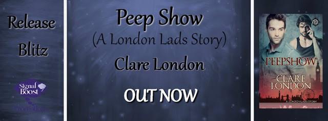 Release Blitz - Clare London's Peep Show