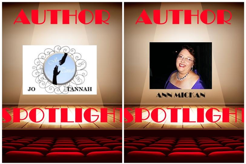 Author Spotlight with Jo Tannah & Ann Mickan
