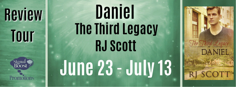 Review Tour - Daniel The Third Legacy by RJ Scott