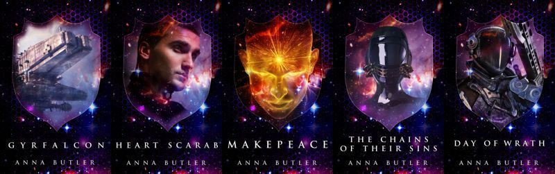 Cover Reveal & Series Recap - Taking Shield Series by Anna Butler
