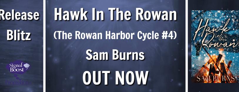 Release Blitz-Hawk In The Rowan (The Rowan Harbor Cycle # 4) by Sam Burns