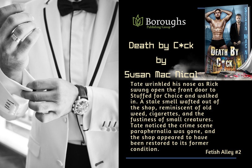 Book Blast for Death By C*ck.