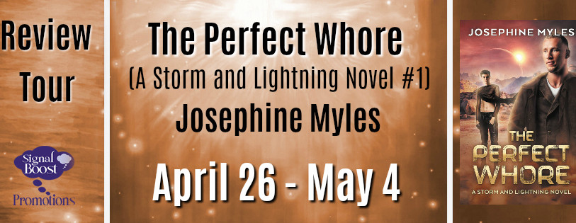 Review Tour - The Perfect Whore (A Storm & Lightning Novel #1) By Josephine Myles