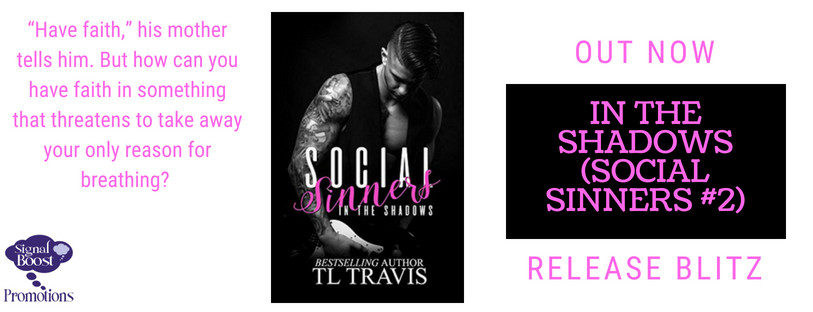 Release Blitz - In The Shadows, Social Sinners 2 by TL Travis