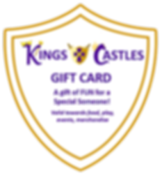 Kings and Castles Gift Card