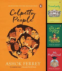 Ashok Ferrey Book Covers