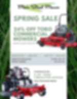 TORO Sping Sale